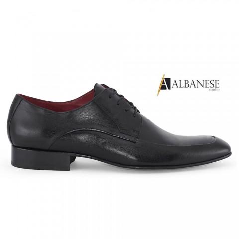 Sapato Social Preto Albanese Tamanhos 40 a 48