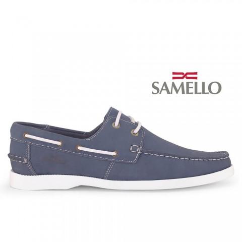 Dockside Samello Lace Nobuck Jeans Tamanhos 38 a 48