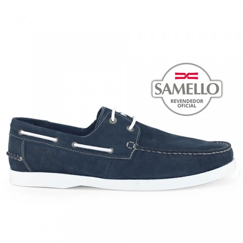 Dockside Samello Nobuck Navy Marinho Tamanhos 45 a 48