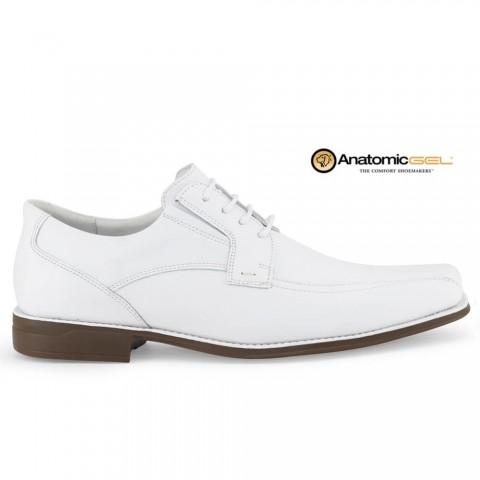 Sapato Anatomic Gel Floater 7795 White Tamanhos 44 a 48