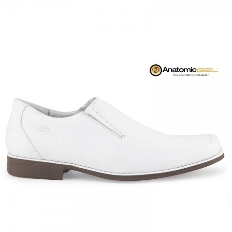 Sapato Anatomic Gel Doctor White 7723 Floater Branco