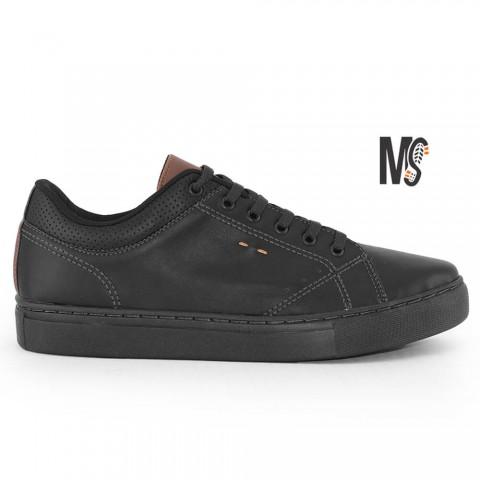 Sapatênis MS Seven All Black Tamanhos 39 a 44